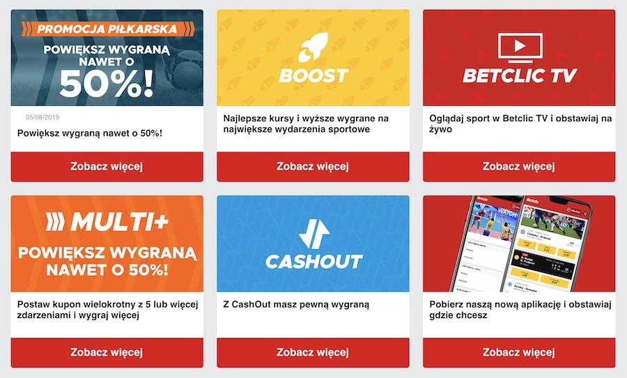 betclic polska bonus za darmo