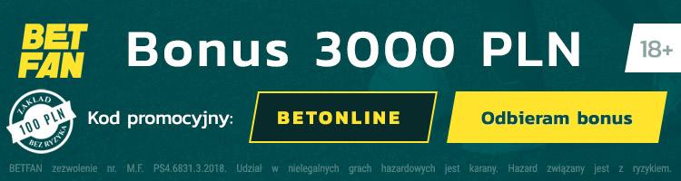betfan bonus na start 2020